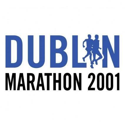 Dublin marathon 2001