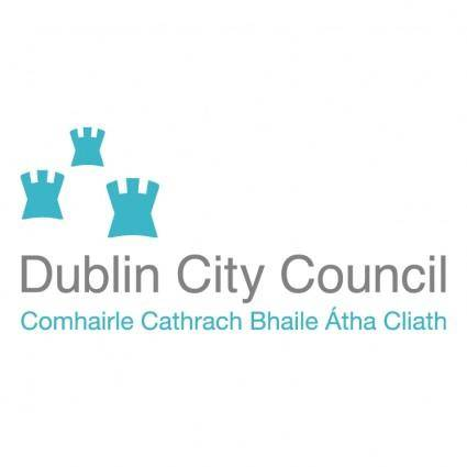 free vector Dublin city council 0