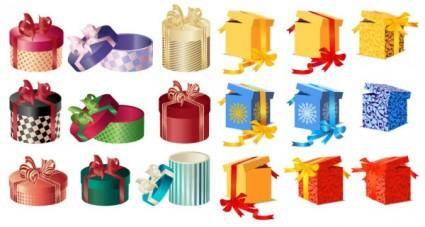 free vector Vector gift box