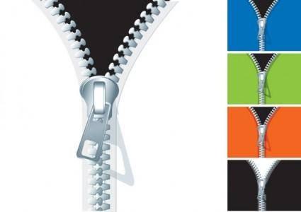 free vector Zipper vector