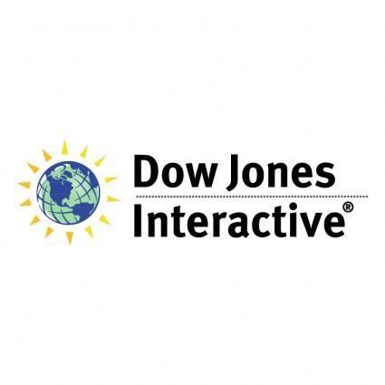 free vector Dow jones interactive 0