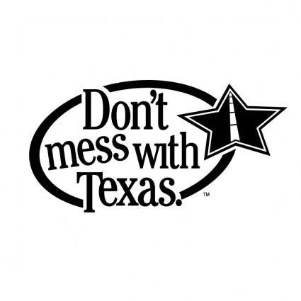 free vector Dont mess with texas