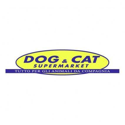free vector Dog cat supermarket