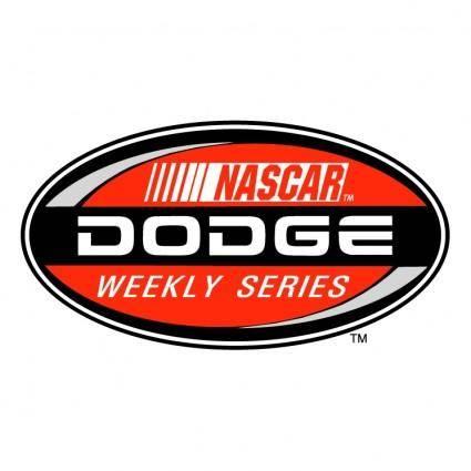 free vector Dodge weekly racing series