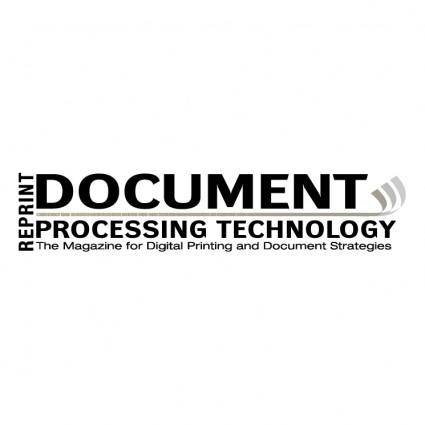 Document processing technology