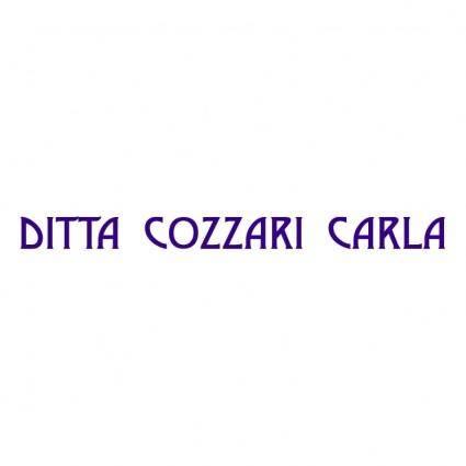 free vector Ditta cozzari carla