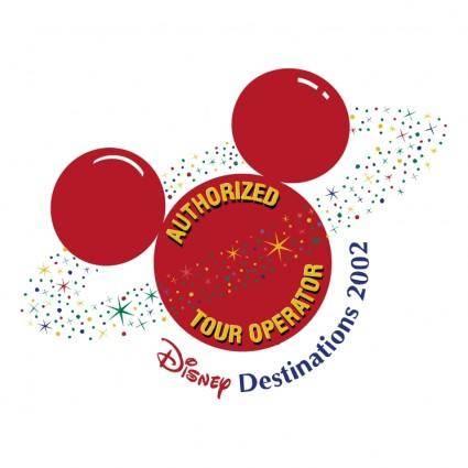 free vector Disney destinations