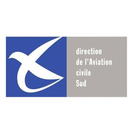 free vector Direction de laviation civile sud