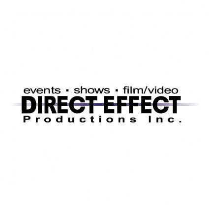 free vector Direct effect productions