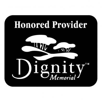 free vector Dignity memorial 0