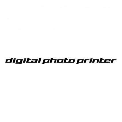 free vector Digital photo printer
