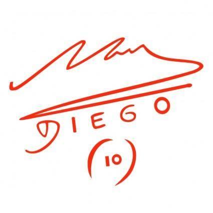 free vector Diego maradona