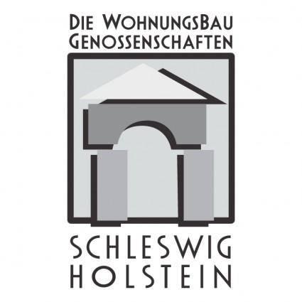 free vector Die wohnungsbau genossenschaften schleswig holstein
