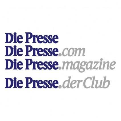 free vector Die presse 0