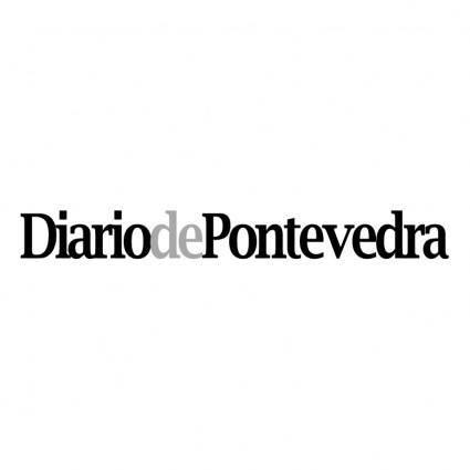 free vector Diario de pontevedra