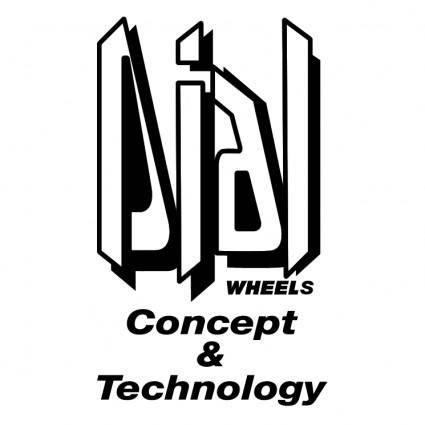 free vector Dial wheels