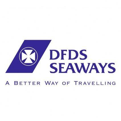 free vector Dfds seaways