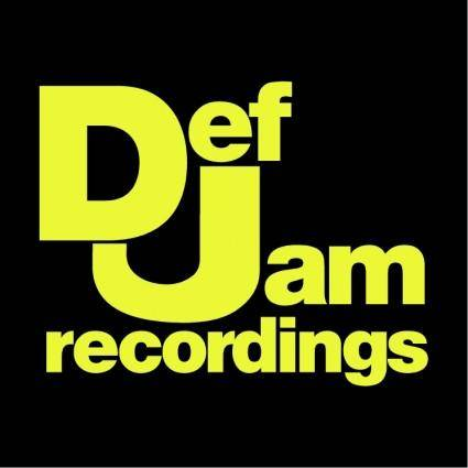 Def jam recordings corporate logotype