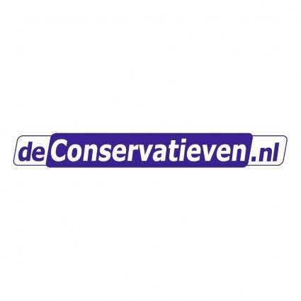 De conservatievennl