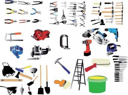Living commonly used tool vector
