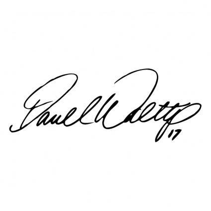 Darrell waltrip signature