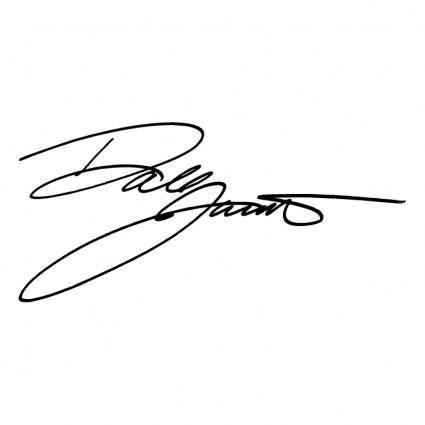 free vector Dale jarrett signature