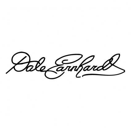 free vector Dale earnhardt signature 0