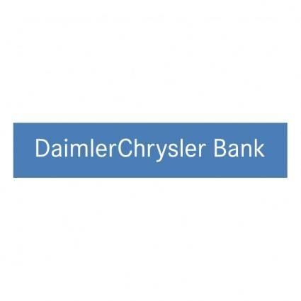 Daimlerchrysler bank