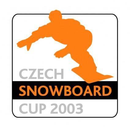 free vector Czech snowboard cup 2003