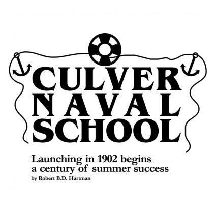 free vector Culver naval school