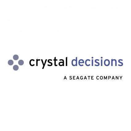 Crystal decisions 1