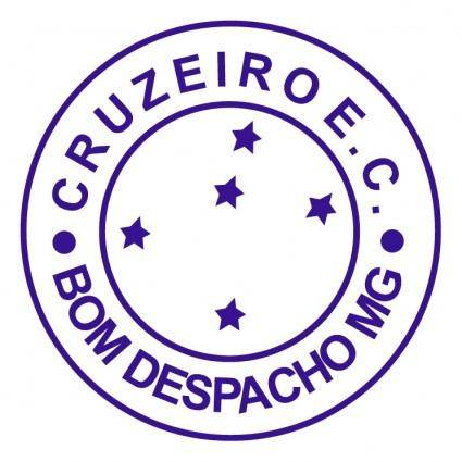 free vector Cruzeiro esporte clube de bom despacho mg