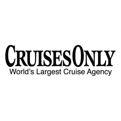 Cruises only