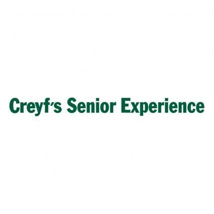 Creyfs senior experience