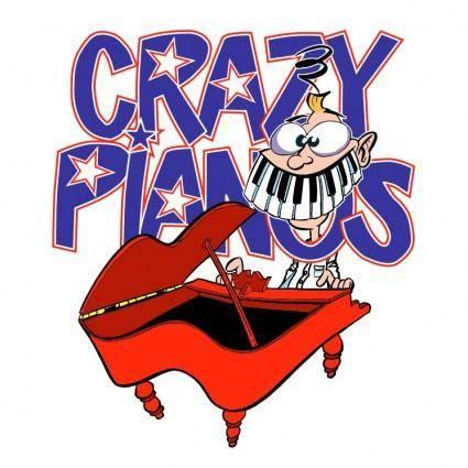 free vector Crazy pianos