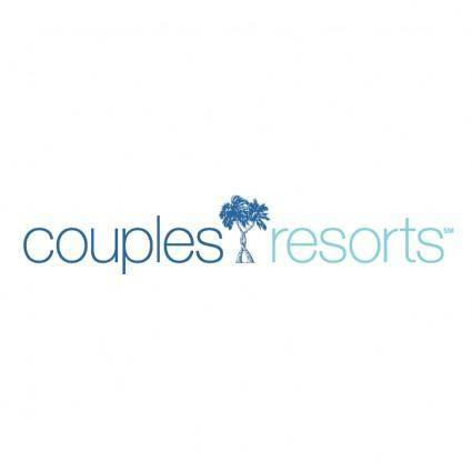 free vector Couples resorts