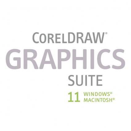 free vector Coreldraw graphics suite 11