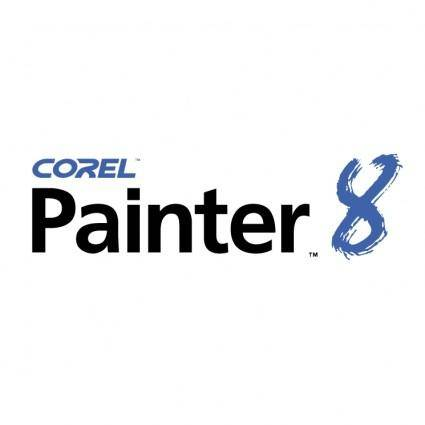 free vector Corel painter 8