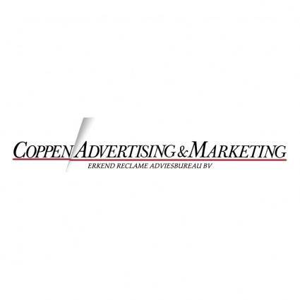 free vector Coppen advertising marketing