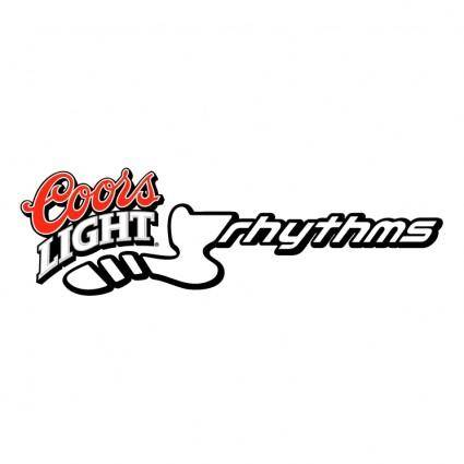 free vector Coors light rhythms
