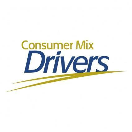 free vector Consumer mix drivers