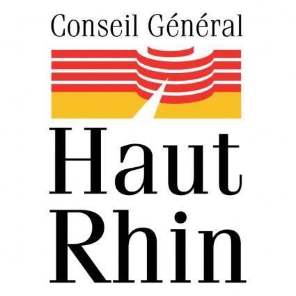 Conseil general du haut rhin 1