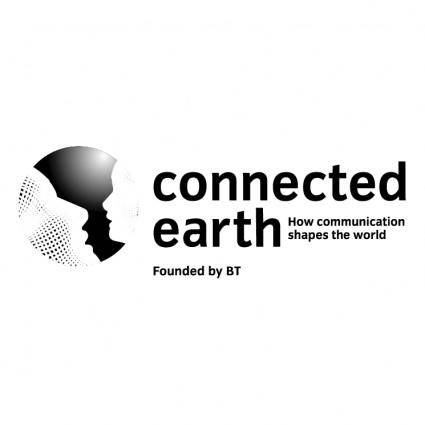 free vector Connected earth