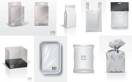 free vector Blank packaging vector
