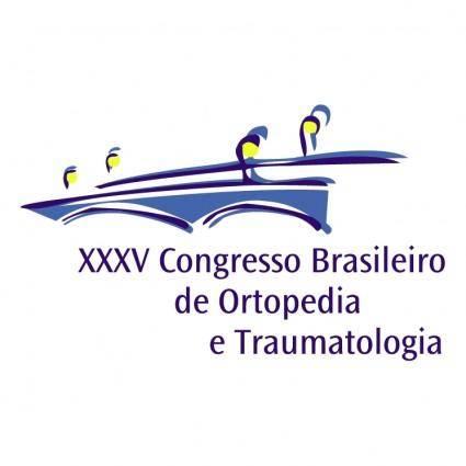 Congresso brasileiro de ortopedia e traumatologia