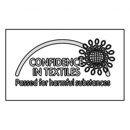 free vector Confidence in textiles