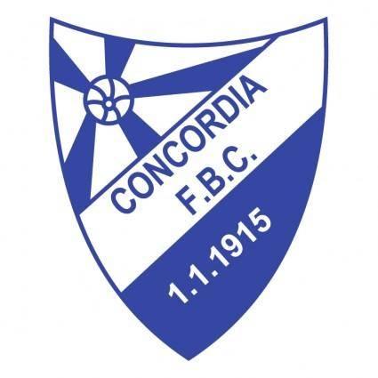 free vector Concordia foot ball club de porto alegre rs