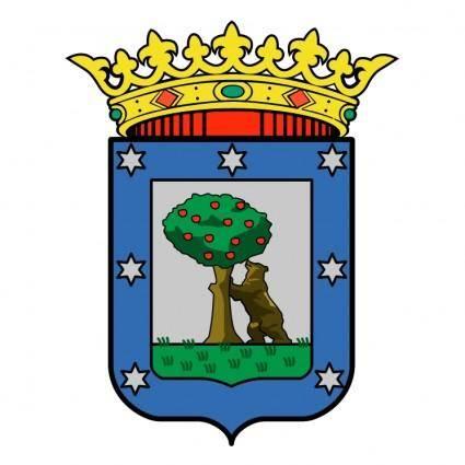 free vector Comunidad de madrid