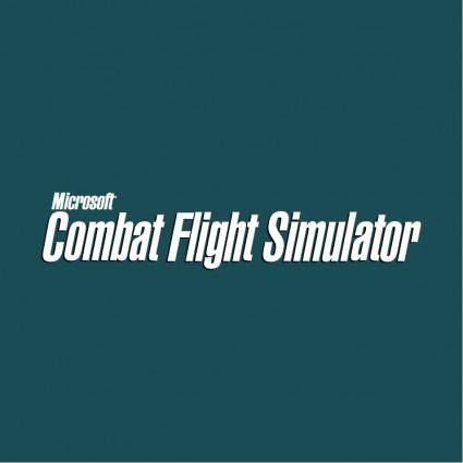 free vector Combat flight simulator