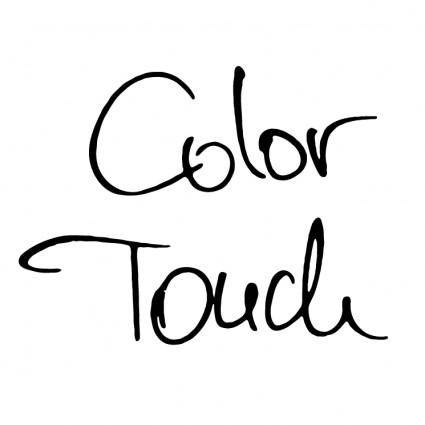 free vector Color touch